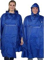 BJØRNSON Regenponcho Unisex Waterdicht Blauw - One Size - Haps