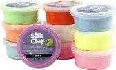 Silk Clay - Klei- Basisset 1 - Set met 10 Kleuren