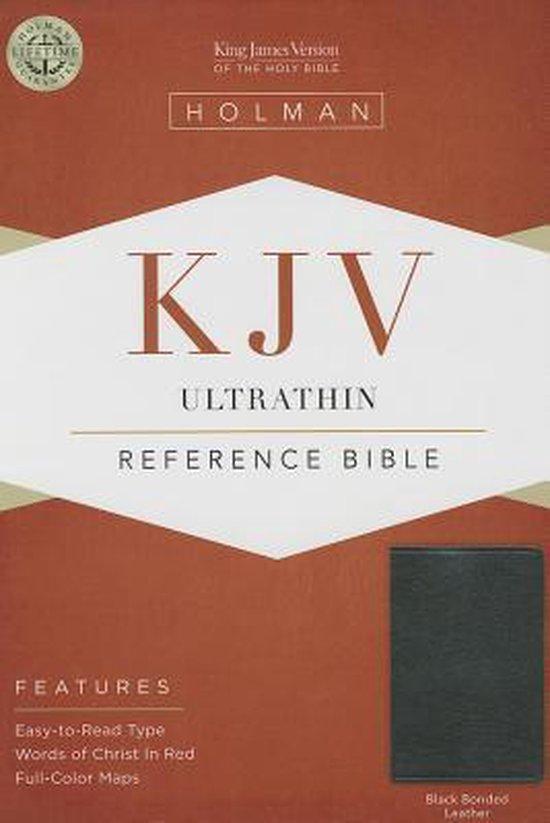Ultrathin Reference Bible-KJV - Diverse auteurs   Fthsonline.com
