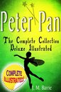 Boek cover Peter Pan the Complete Collection: Deluxe Illustrated (annotated) van J. M. Barrie