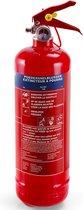Alecto ABP-1 Poeder brandblusser 1kg - ideaal voor thuis - auto - boot