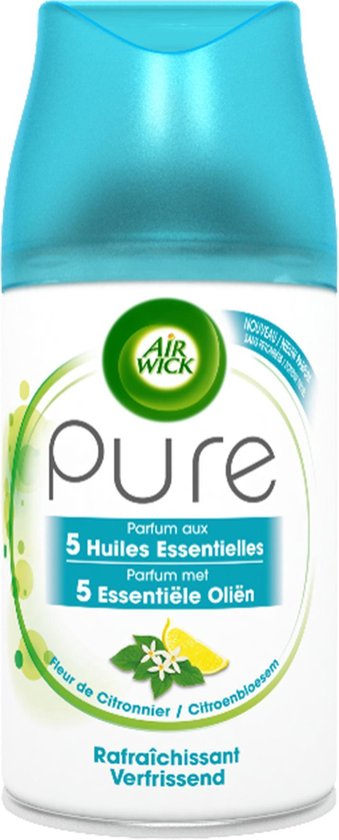 Air Wick Freshmatic Pure Citroenbloesem Luchtverfrisser - Navulling - 3x250ml