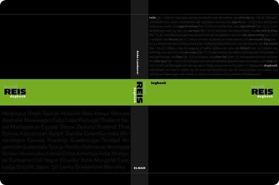 Cover van het boek '(Wereld)reisdagboek' van A. Landweer