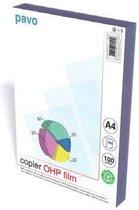 Afbeelding van Overheadsheets A4 OHP Folie Copier - 100 mic - transparant - 100 stuks