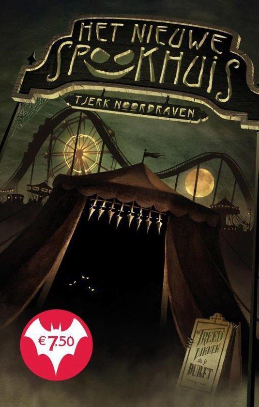 Boek cover Het nieuwe spookhuis van Tjerk Noordraven (Hardcover)