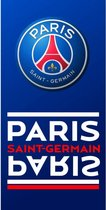 PSG Handdoek - Spiegel - 70 x 140 cm - Blauw - Paris Saint Germain