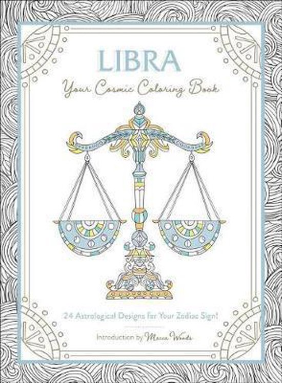 Libra: Your Cosmic Coloring Book