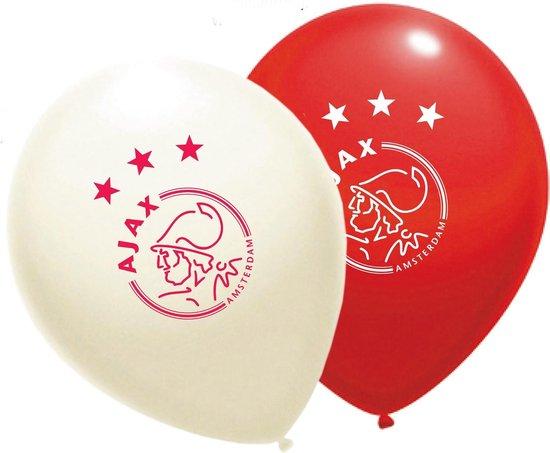Ballonnen Ajax 10 stuks