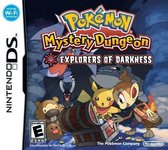 Pokémon Mystery Dungeon, Explorers of Darkness  NDS