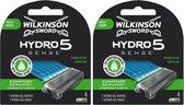 Wilkinson Scheermesjes Sword Hydro 5 Sense 8 mesjes (2x4)