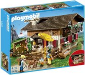 Playmobil country berghut in de alpen