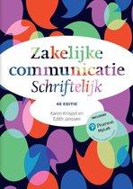 Zakelijke communicatie - Schriftelijk, 4e editie met MyLab NL toegangscode