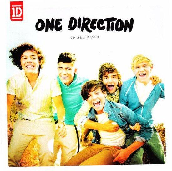 CD cover van Up All Night van One Direction