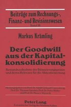 Der Goodwill Aus Der Kapitalkonsolidierung