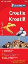Croatie / Kroatië 11757 carte ' national ' michelin kaart