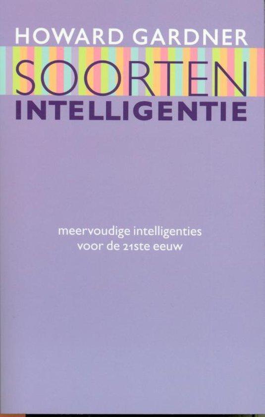 Boek cover Soorten intelligentie van H. Gardner