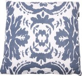 In The Mood Vintage Ikat - Sierkussen - 50x50 cm - Faded Blue