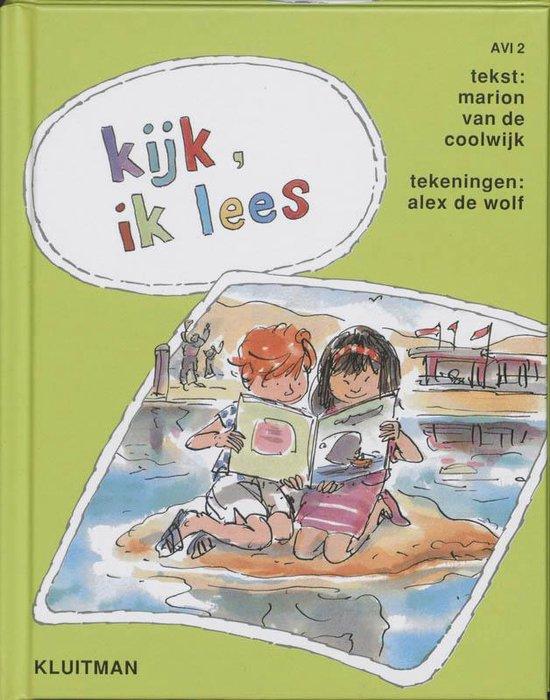 Lezen is leuk 4 - Kijk ik lees - Marion van de Coolwijk pdf epub