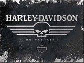 Nostalgic Art Harley-Davidson Magneet