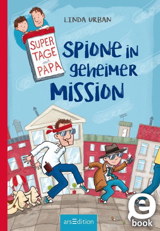 Boek cover Supertage mit Papa - Spione in geheimer Mission van Linda Urban (Onbekend)