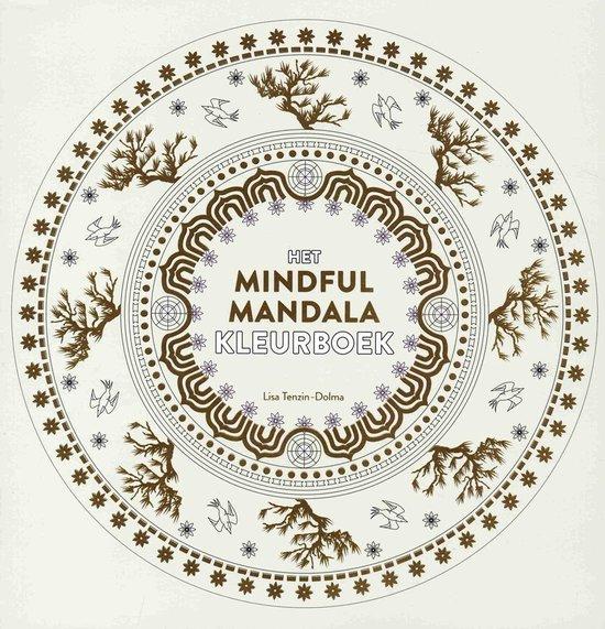 Het mindful mandala kleurboek - Lisa Tenzin - Dolma |