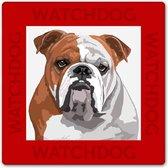 Bulldog waakbord