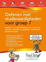 Boek cover Oefenen met studievaardigheden voor groep 7 van Sietse Kuipers (Paperback)