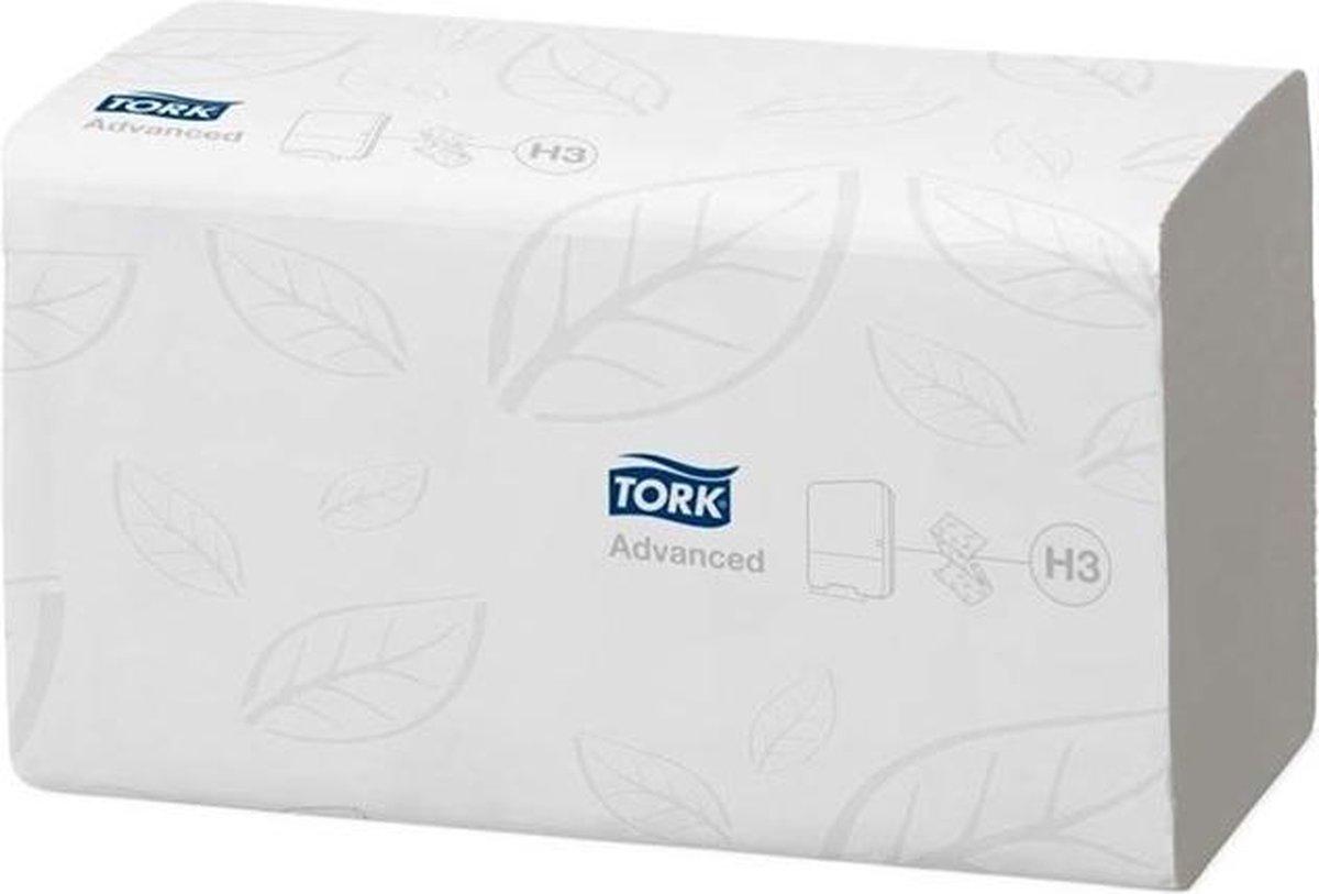 Tork Zachte Z-vouw Handdoek 2-laags Wit H3 Advanced