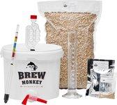 Brew Monkey Bierbrouwpakket - Plus Tripel bier - Zelf bier brouwen - Bier brouwen startpakket- Vaderdagcadeau