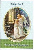 Kerstkaarten nr. 27 Engelen kaarten. 10x