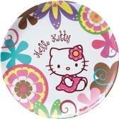 Hello Kitty Bamboo plat bord 24cm melamine