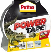 Pattex Power Tape - Ducttape - Waterbestendig - 25 Meter - Wit