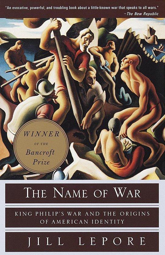 Boek cover The Name of War van Jill Lepore (Onbekend)