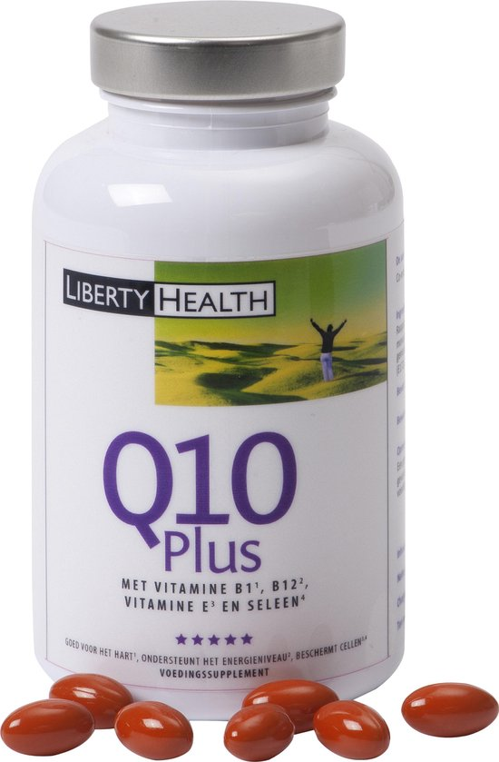 Liberty Life Extension - Q10 Extra - 60 Capsules - Voedingssupplement
