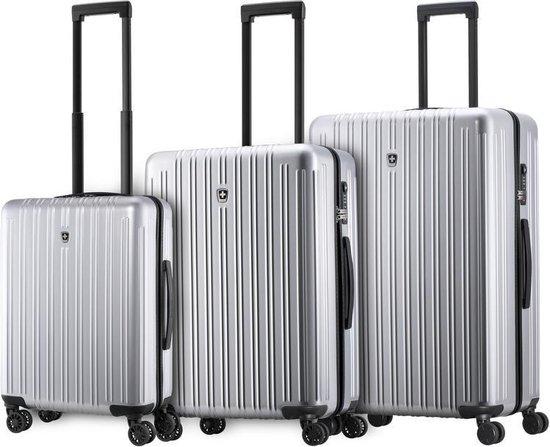 Swissmobility Precision Kofferset met TSA-slot - 3 delige Trolleyset -...