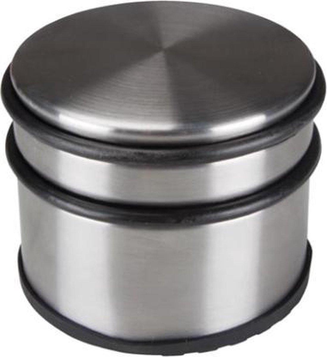 Bloomingville Deurstopper - 9x7,5 Cm - Metaal, chroom
