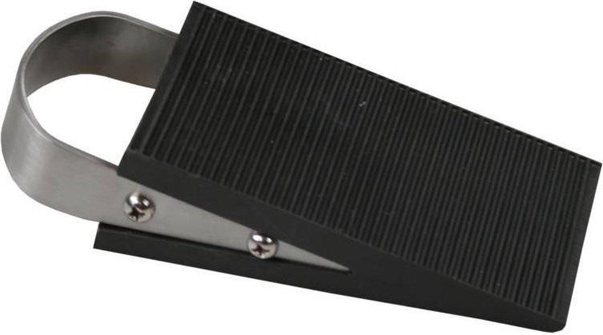 T4ALL Deurstopper - 5x12,5 Cm - Rvs