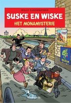 Suske en Wiske deel 341 Het Monamysterie (gratis verzending)