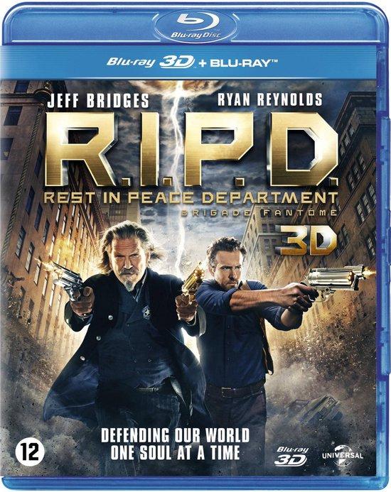 Cover van de film 'R.I.P.D. Rest In Peace Department 3D'