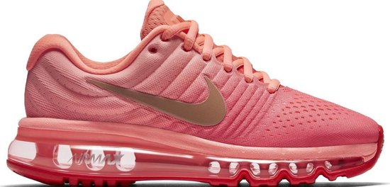 nike air max 2017 dames wit roze
