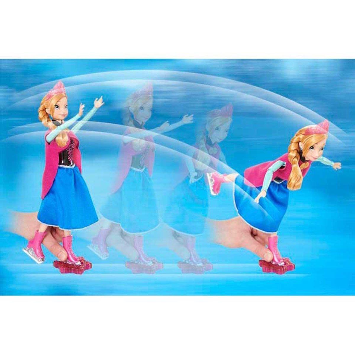 Bol Com Disney Frozen Schaatsende Anna Ice Skating Schaatsen Anna Pop