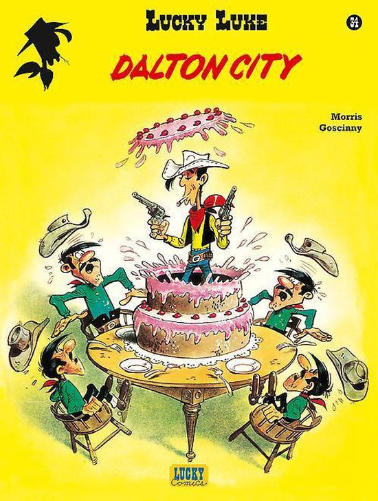 Lucky luke (relook) 34. dalton city - Morris |