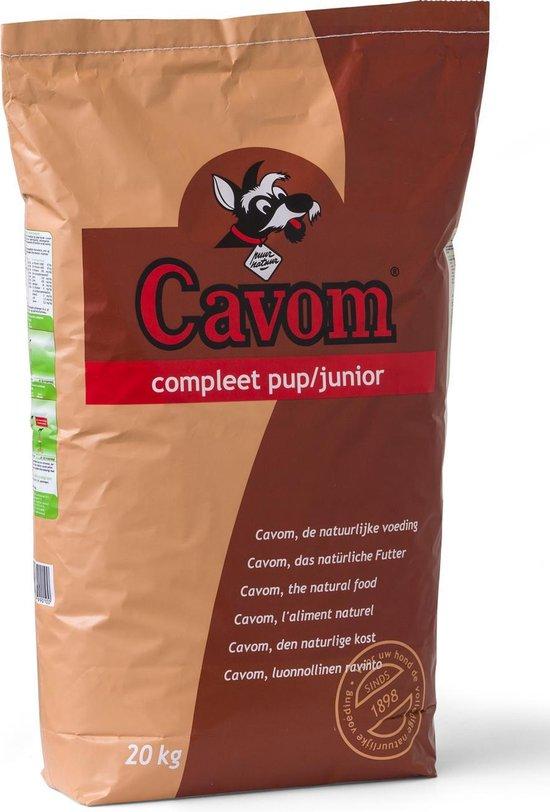 Cavom - Compleet pup/junior - 20 kg