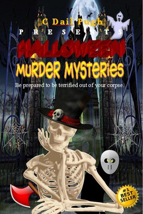 Omslag van Halloween Murder Mysteries