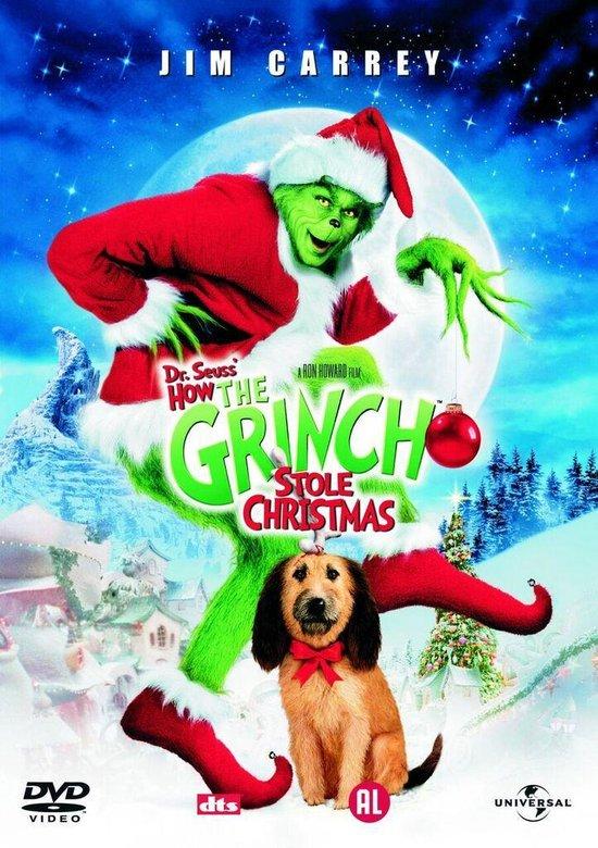 Cover van de film 'Dr. Seuss' How The Grinch Stole Christmas'