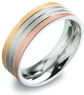 Boccia Titanium 0135-03 Ring - Titanium - Bicolor