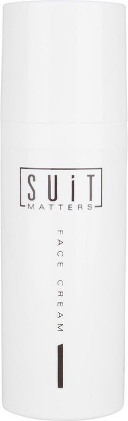 Suit Matters Face Cream 100% Natuurlijk - 50 ml