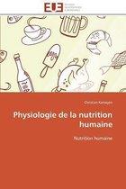 Physiologie de la Nutrition Humaine