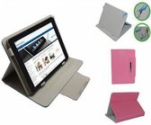Yarvik Tab08 201 Xenta Diamond Class Hoes, Luxe Cover, Comfortabele Case, roze , merk i12Cover
