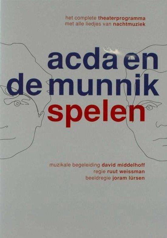 Cover van de film 'Acda En De Munnik - Spelen'